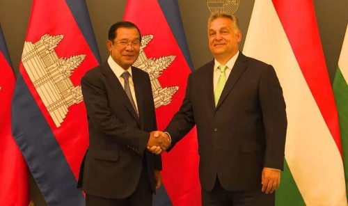 In the evening of 13 June 2019, Samdech Techo Hun Sen holds bilateral meeting with H.E. Viktor Orbán, Prime Minister of Hungary and both sign three key documents to strengthen comprehensive cooperation between the two countries.