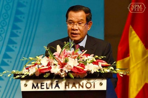 In the afternoon of 4 October 2019, Samdech Techo Hun Sen and his Vietnam's counterpart H. E. Nguyen Xuan Phuc co-chair the Cambodia-Vietnam Conference on Investment and Trade Promotion, in Hanoi, Vietnam.